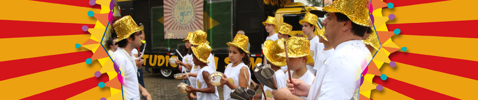 photo of GURIS being conducted in a parade of Street Carnival