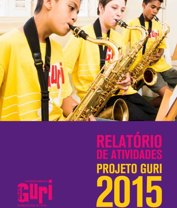 capa relatório anual 2015