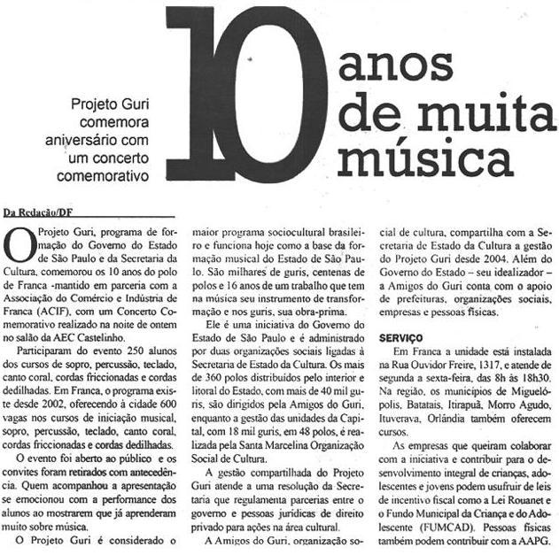 dirio da franca - 05.12.2012