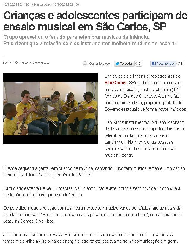 eptv so carlos - 12.10.2012