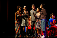 photo of Brazilian artists singing with the Guri Program