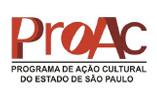 Logo PROAC - Programa de Ação Cultural do Estado de São Paulo