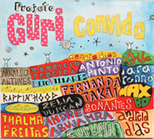 cover of the CD Projeto Guri Convida, [Guri Program Invites] the first musical production uniting 18 artists of renown in popular Brazilian music