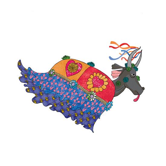 Imagens dos personagens do Espetáculo Lendas Amazônicas