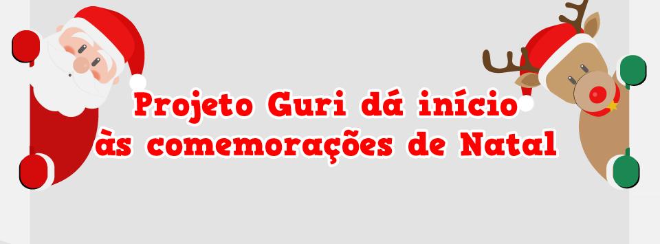 Projeto Guri dá início às comemorações de Natal