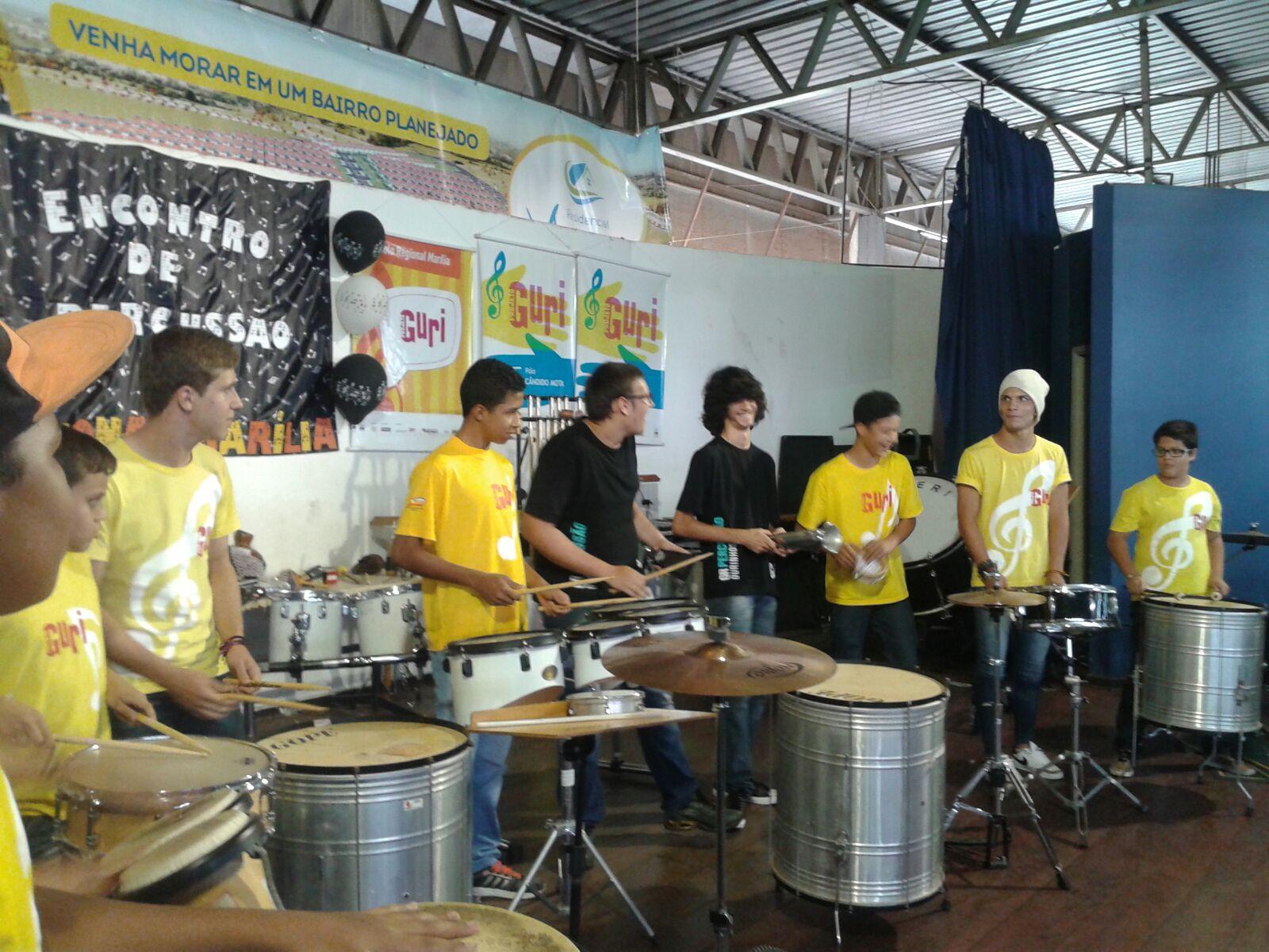 EmCena - Encontro de Percussão em Marília