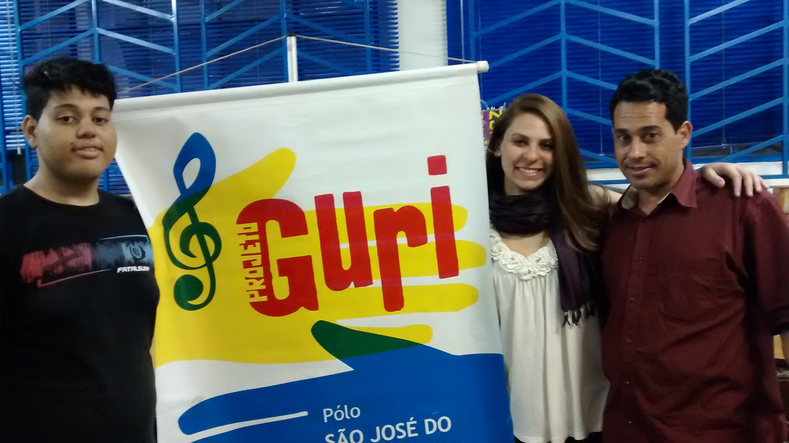 Aula com Anna Murakawa, ex-aluna do Guri