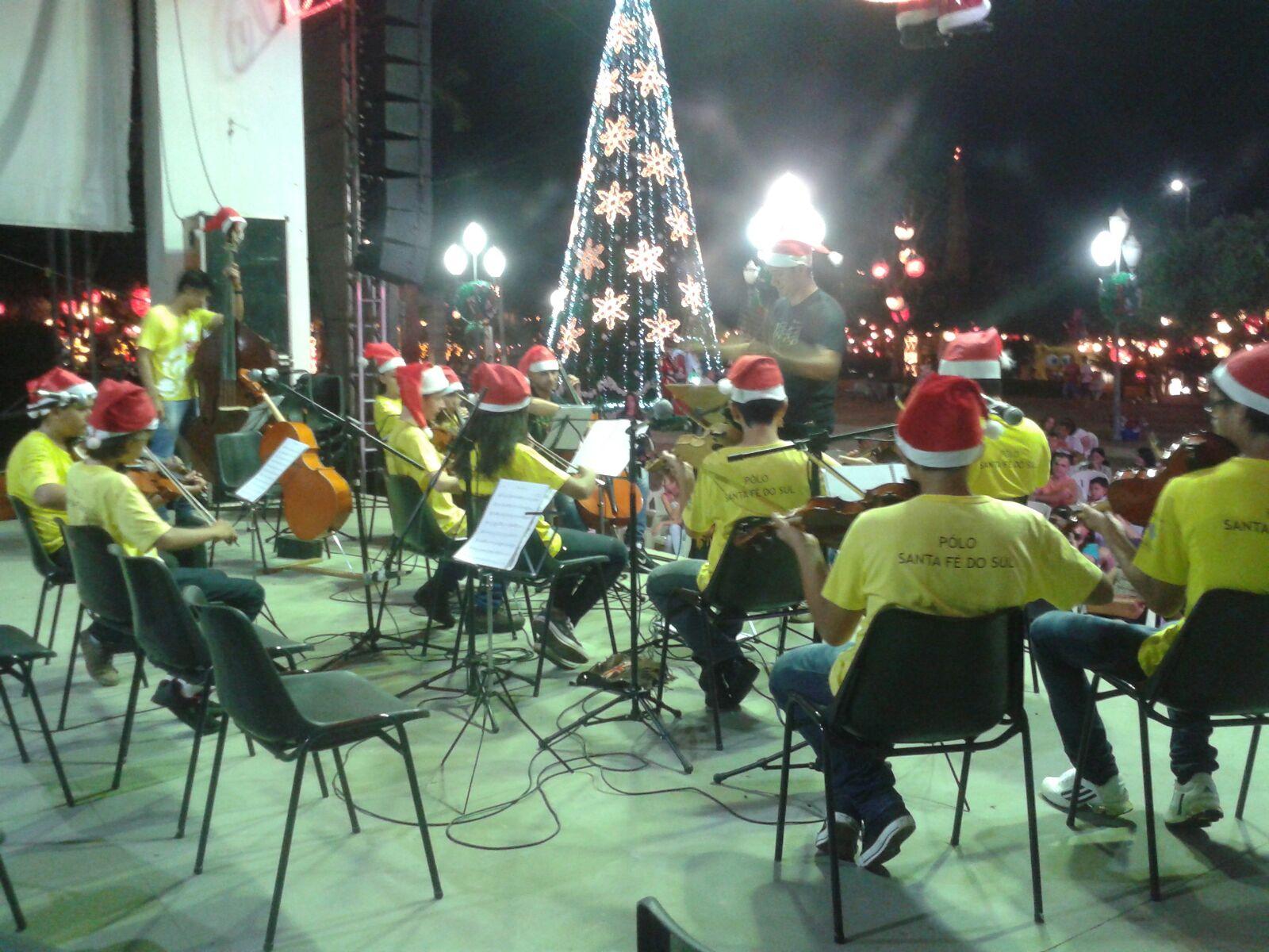 Natal em Santa Fé do Sul