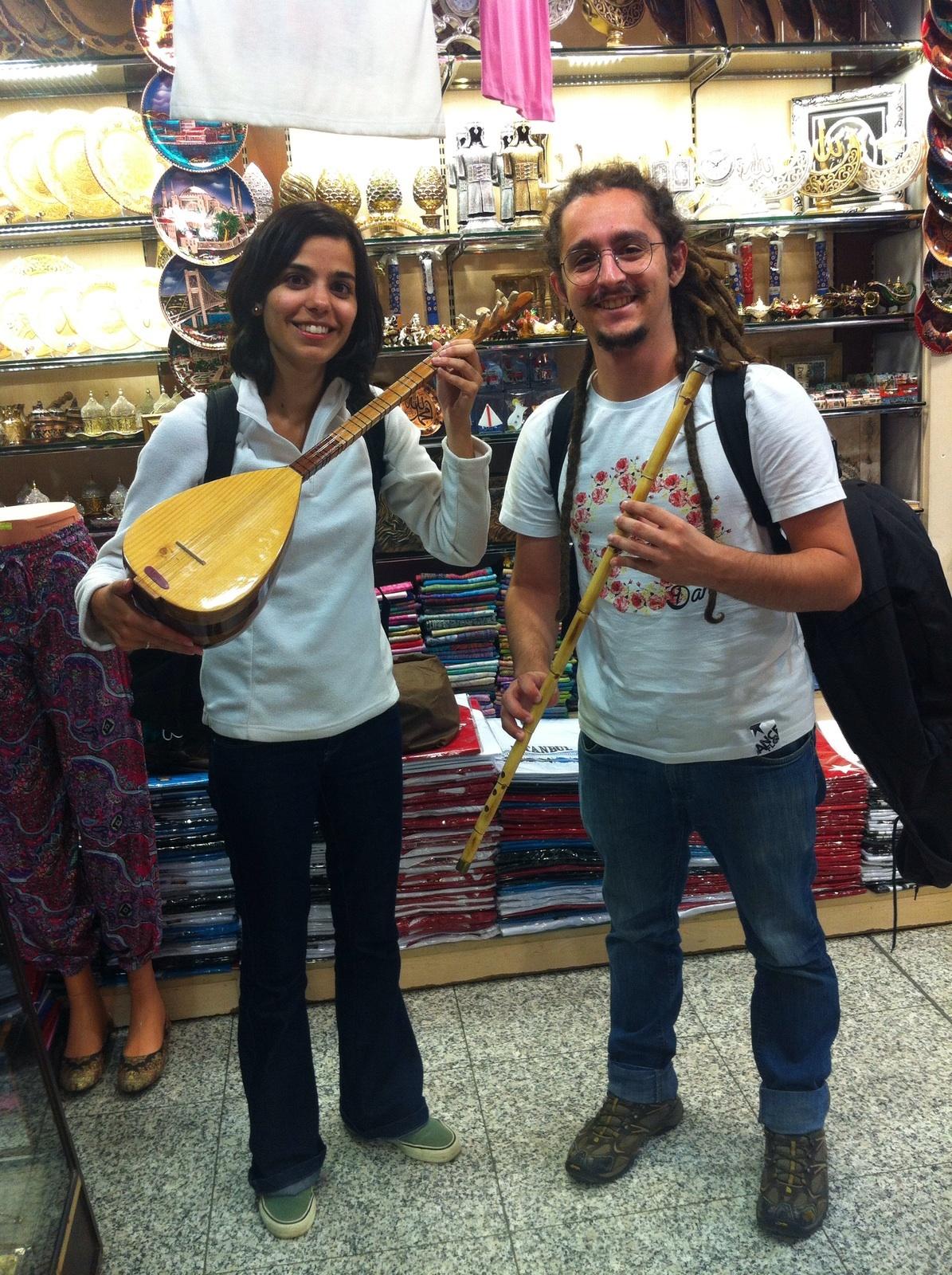 Ananda e Eduardo em conexão na Turquia