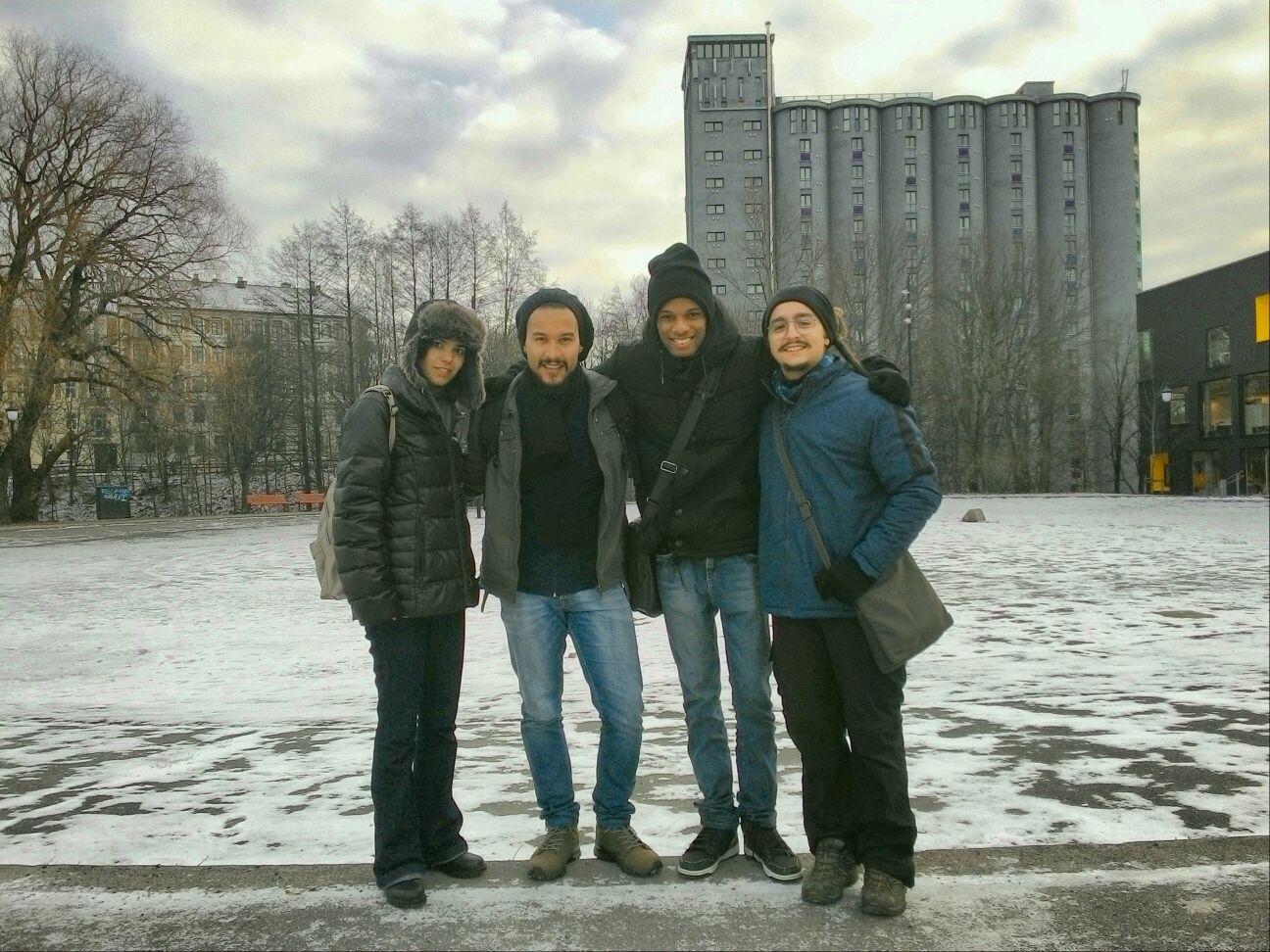 Juntos em Oslo
