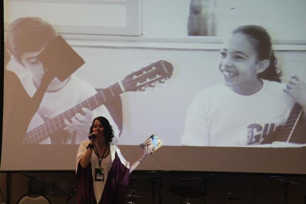 Alessandra Costa, diretora executiva do Projeto Guri, abre o 8º Seminário - 'Ser Criativo'