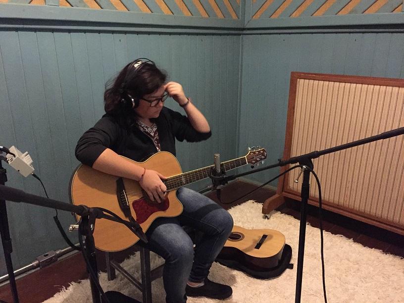 Gravação da composição vencedora - Gargolândia - credito Candy Nunes 1 - pequena