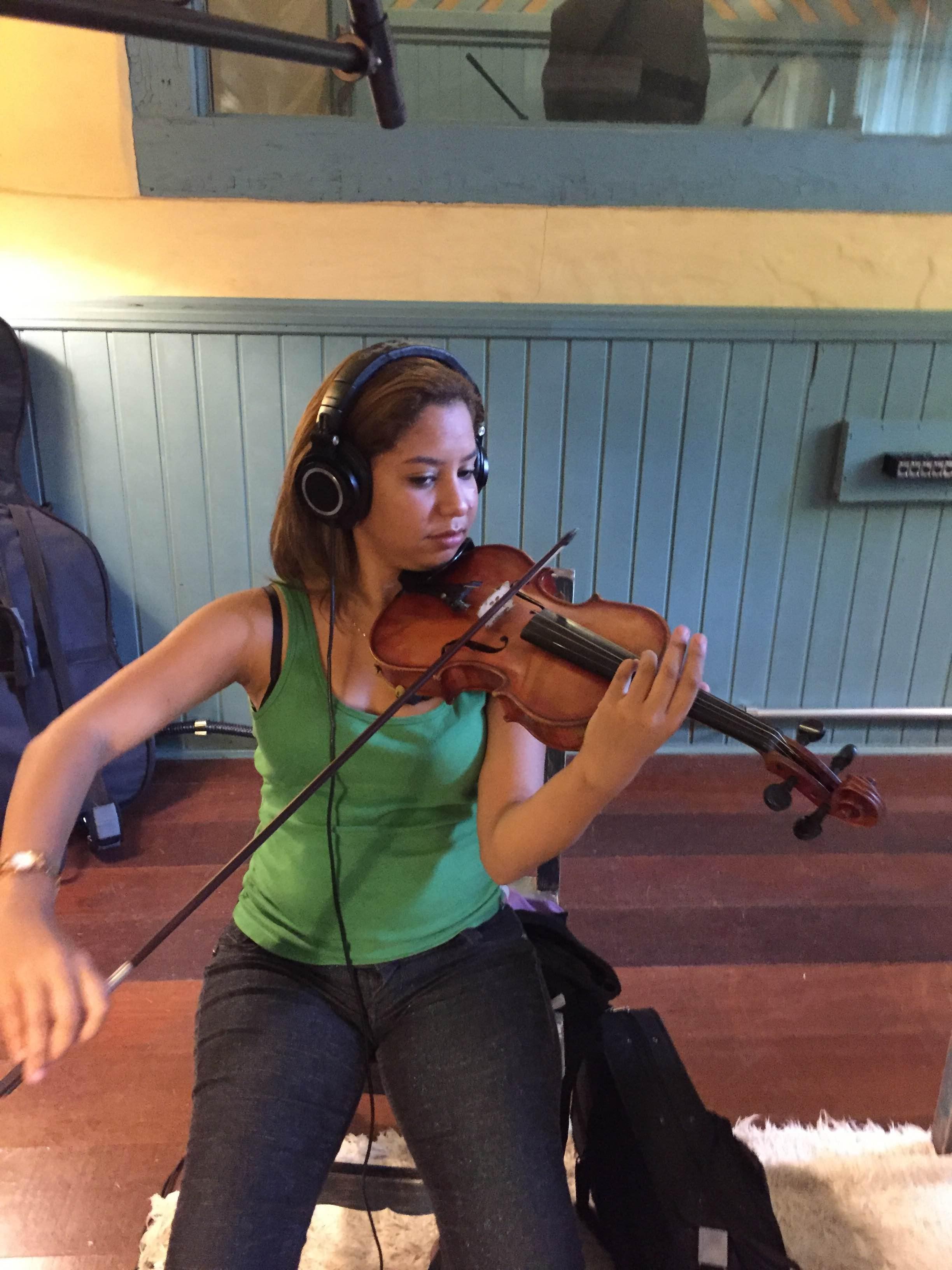 Gravação da composição vencedora - Gargolândia - credito Candy Nunes 13