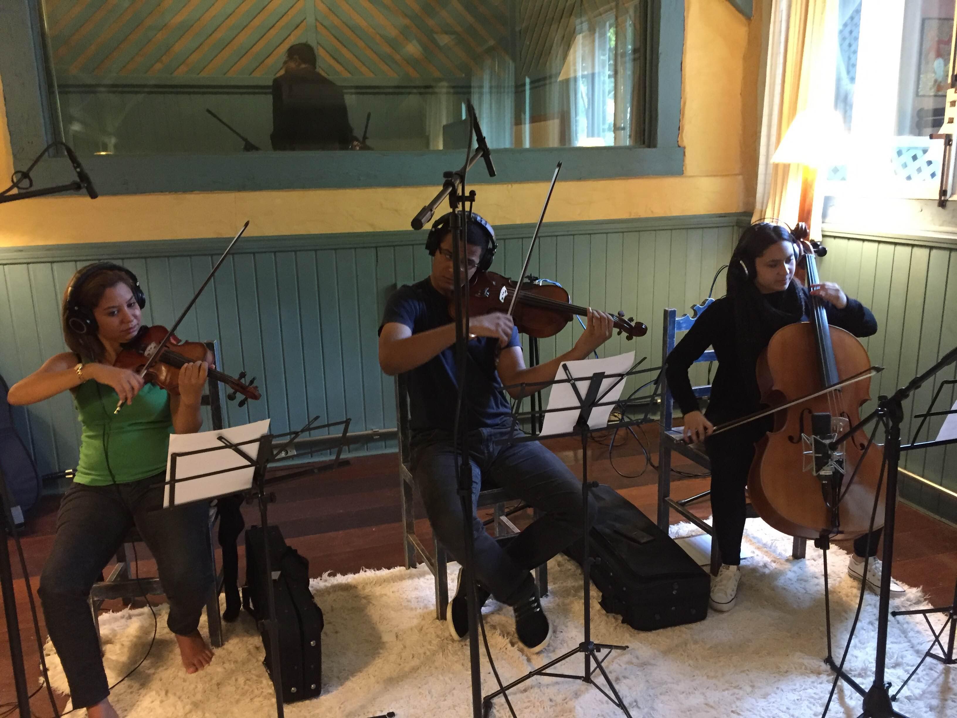 Gravação da composição vencedora - Gargolândia - credito Candy Nunes 16
