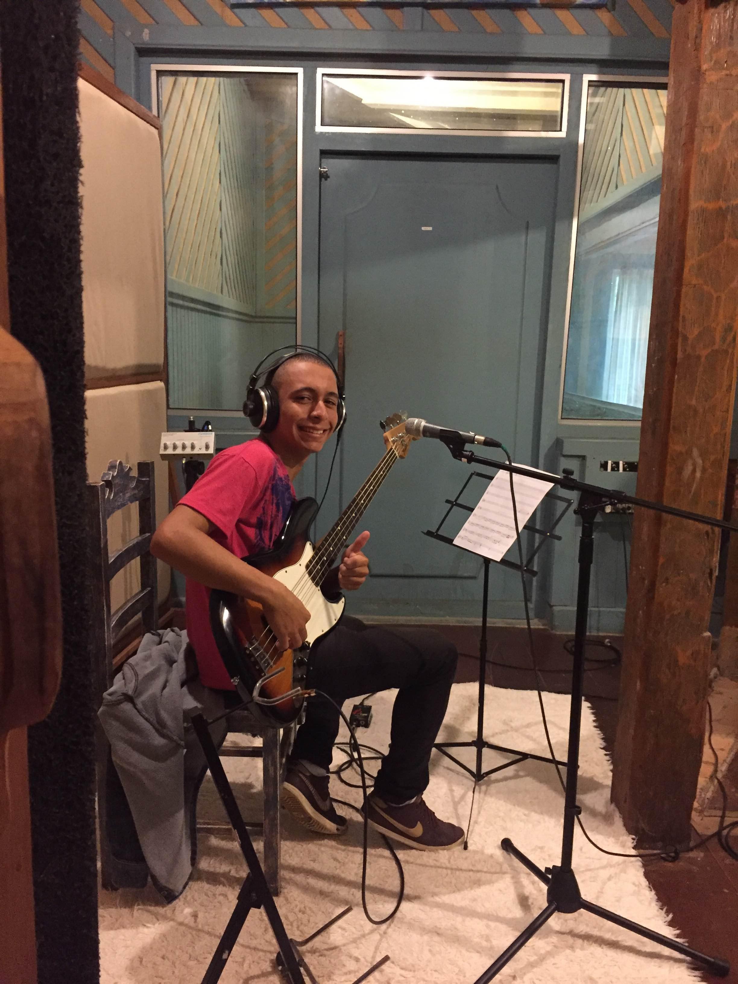 Gravação da composição vencedora - Gargolândia - credito Candy Nunes 8