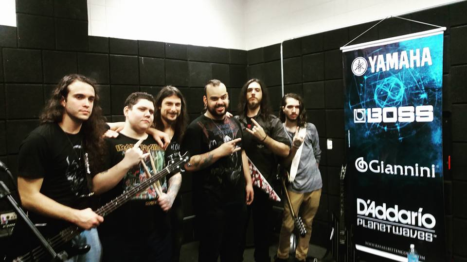 workshop de Rafael Bittencourt com a Banda Sephion - foto do Facebook
