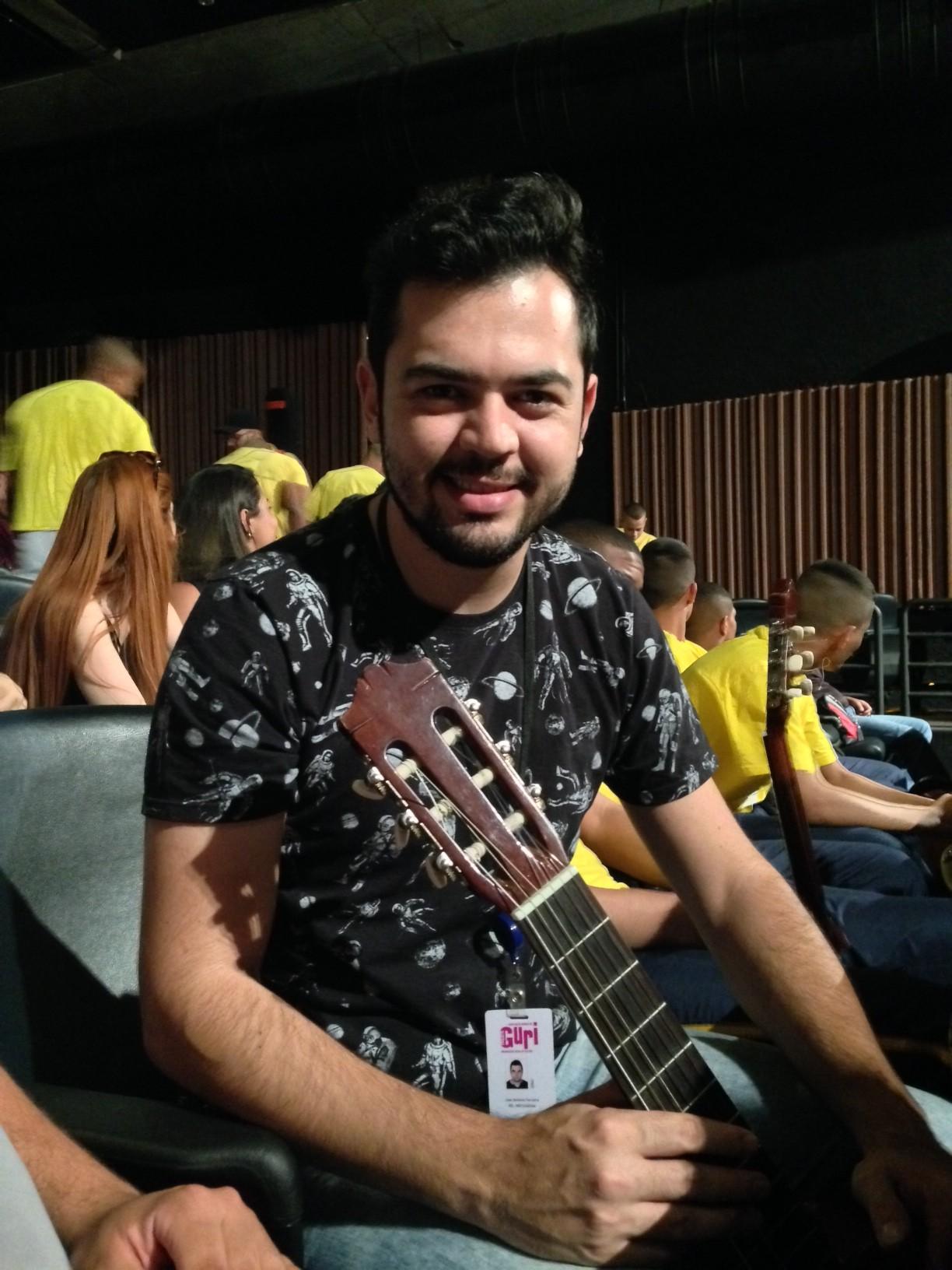 O educador João Ferreira foi taxativo: 'Aqui ao meu lado está a tropa de elite da música'