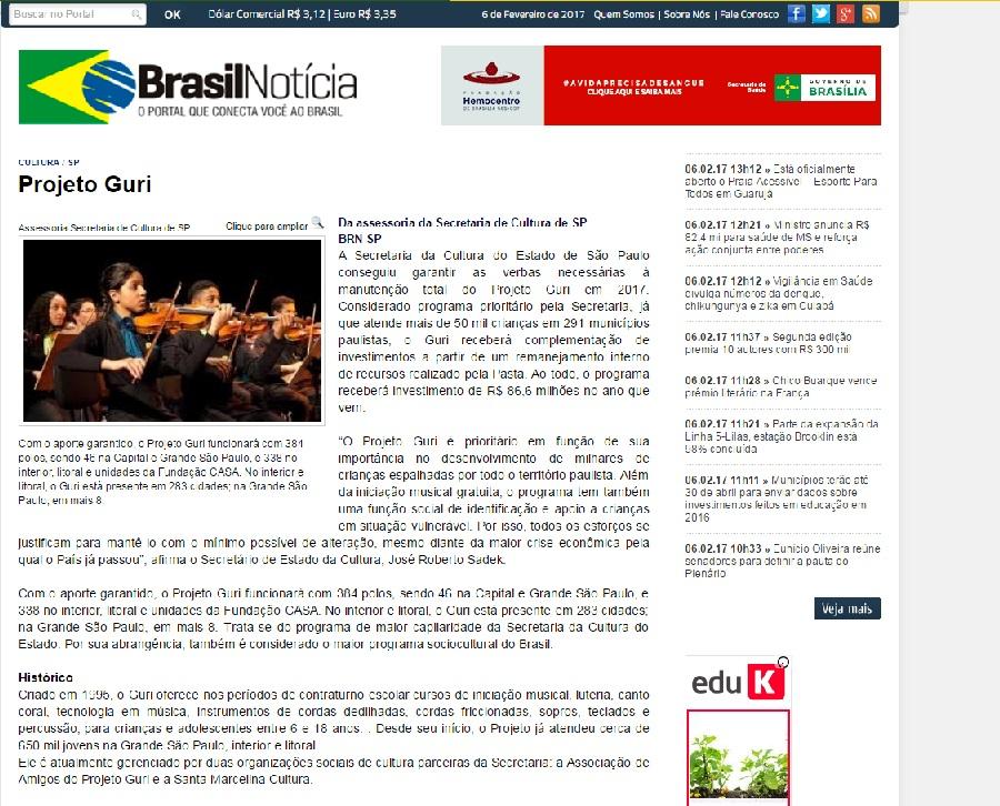 brasil notícia
