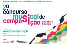 Concurso Musical de Composição - inscrições abertas - home