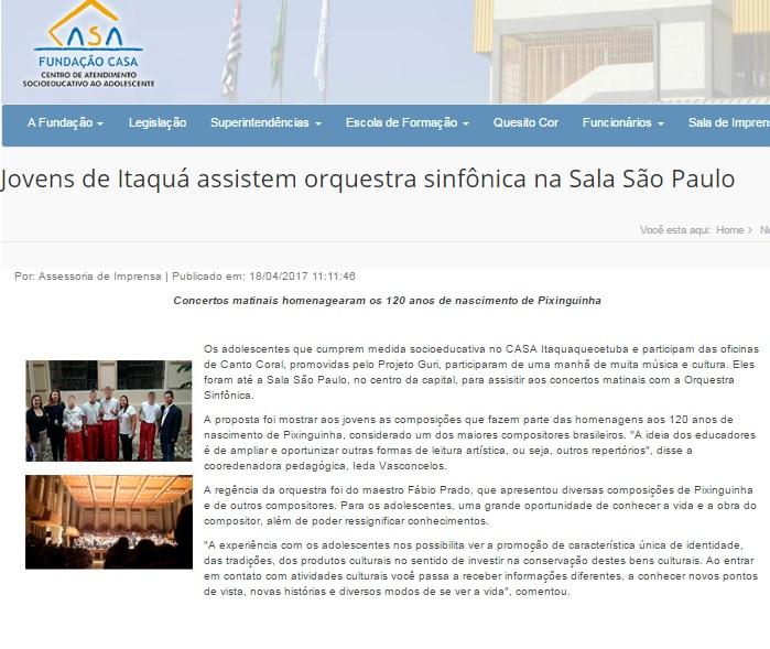 Fundação CASA Itaquá