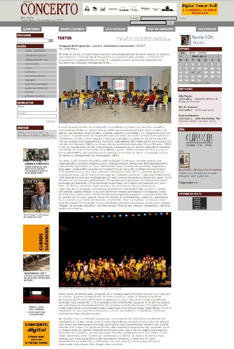 Revista concerto - imagem interna