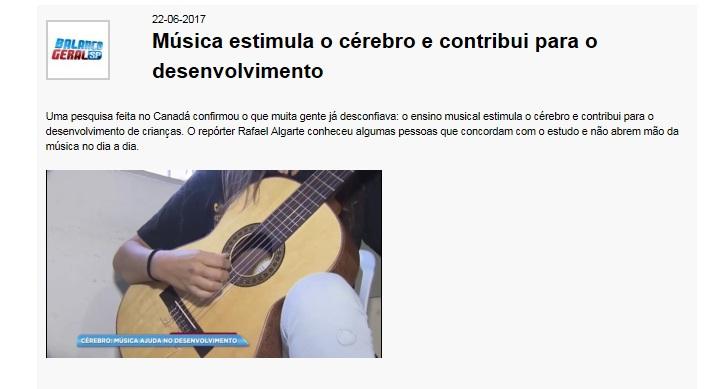 Record - música - estímulo