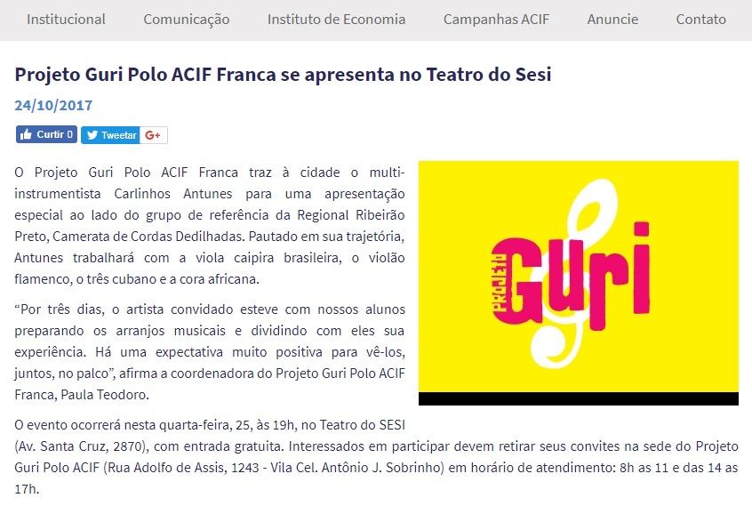 ACIF Franca - Sesi