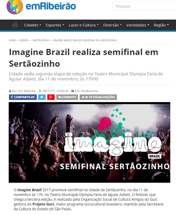 Imagine Sertãozinho