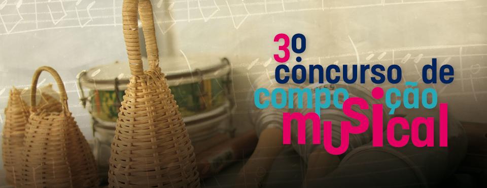 3º concurso de composição musical
