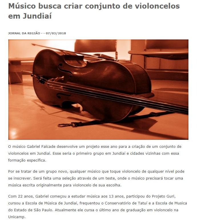 conjunto de violoncelos