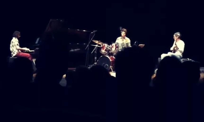 Concerto no auditório do Masp com os músicos Janek Gwizdala, Salomão Soares e Edu Ribeiro