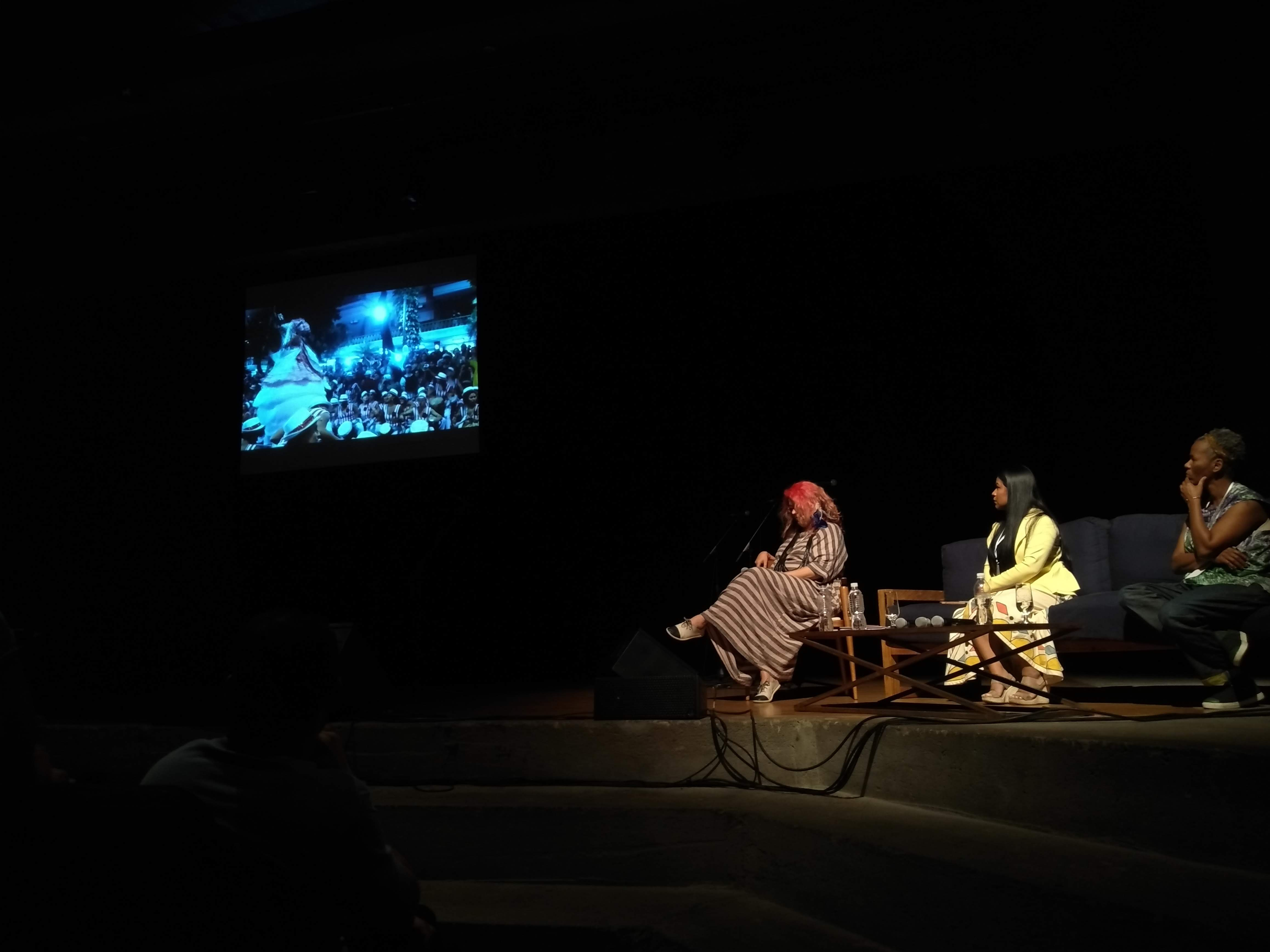 Mesa 8 - Música e identidade cultural: Magda Pucci, Djuena Tikuna (cultura indígena) e Beth Beli (cultura africana)