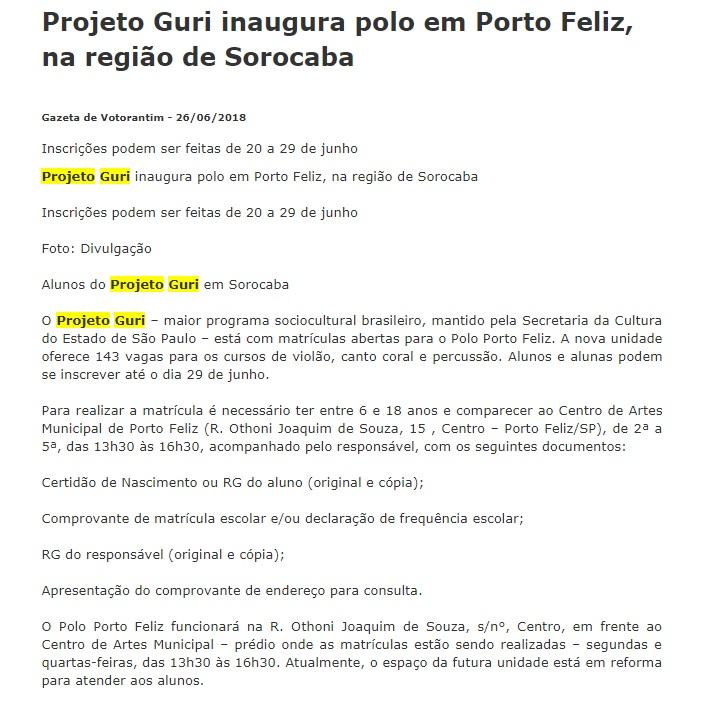 Polo Porto Feliz 1