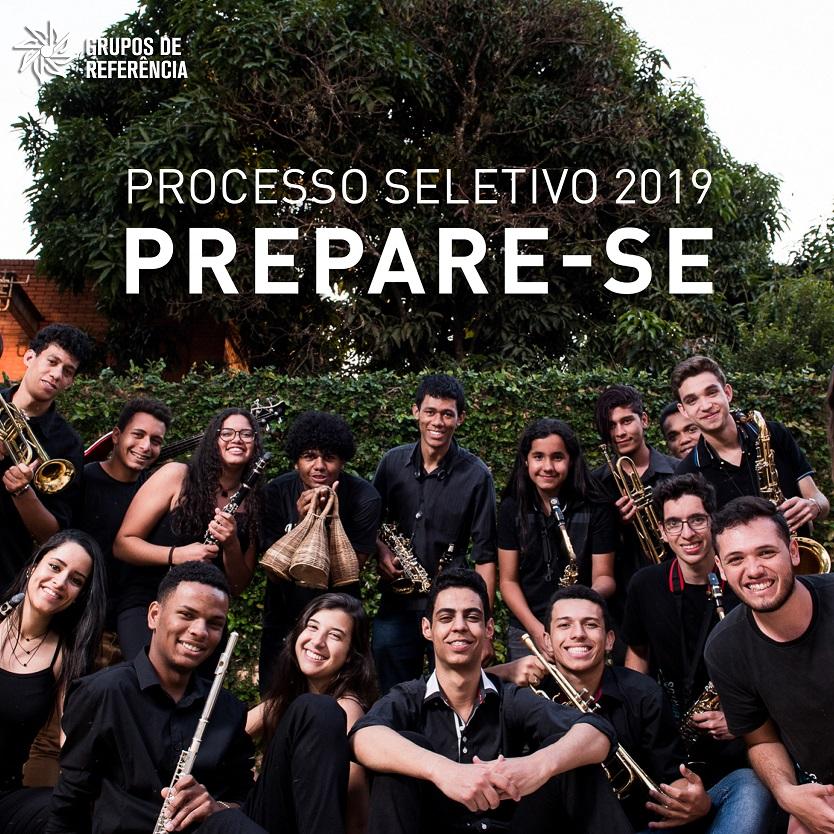 Grupo de Referência - processo seletivo - 2019