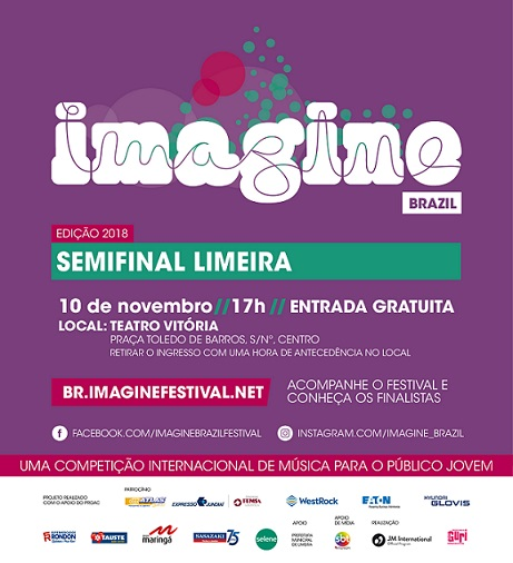 Imagine Brazil - convite - Limeira