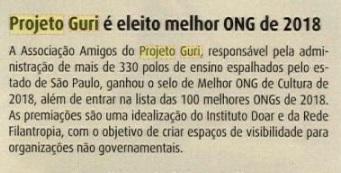 Revista Concerto - Melhor ONG