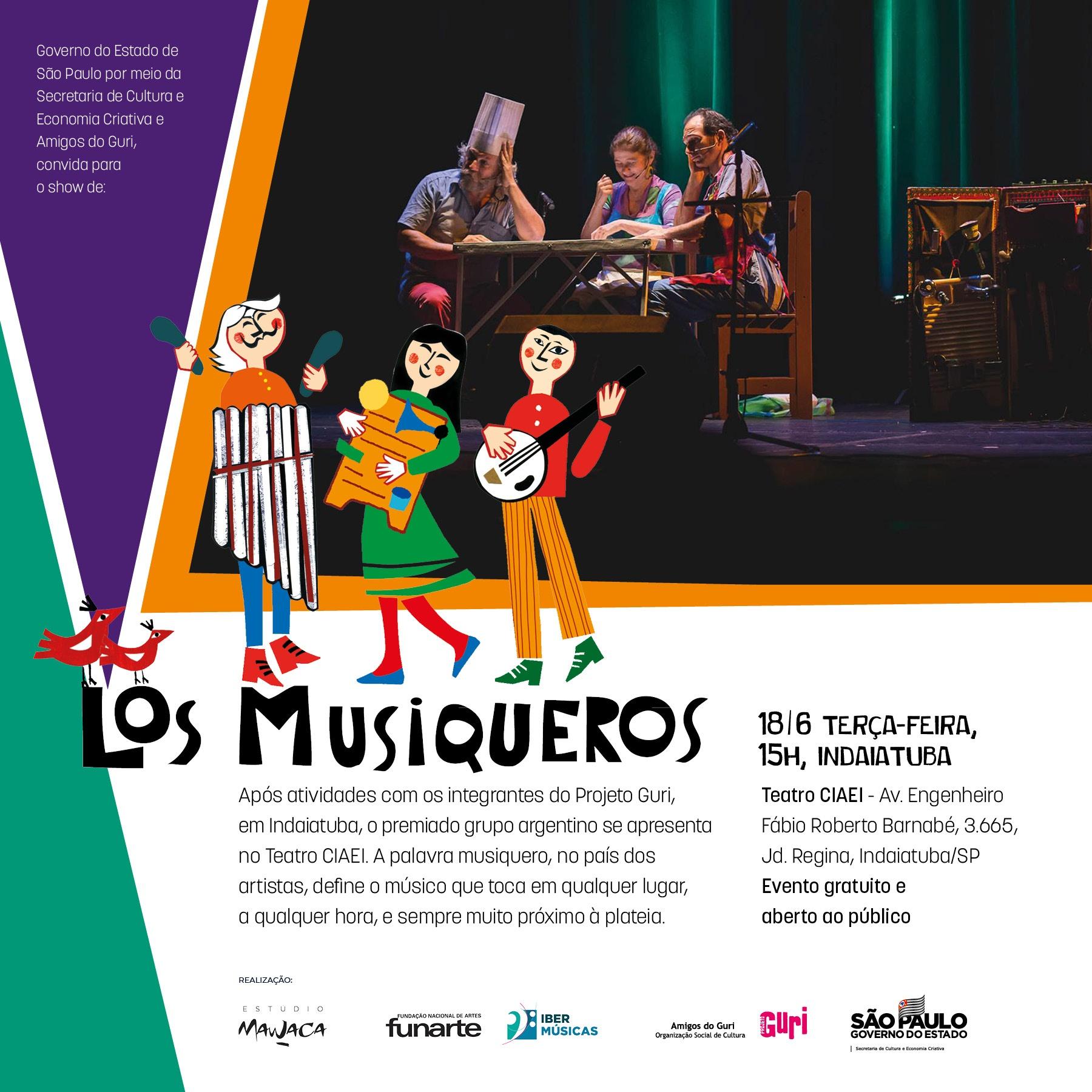 Los Musiqueros - convite
