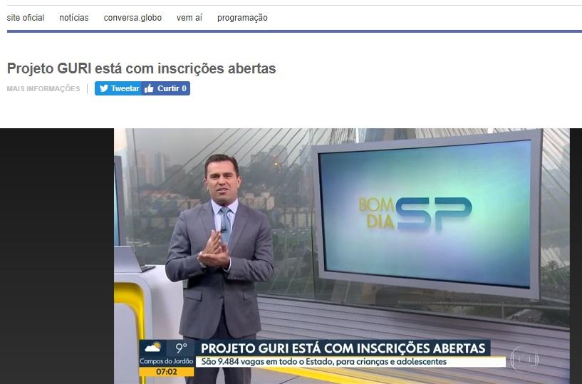 Bom Dia São Paulo - matrículas
