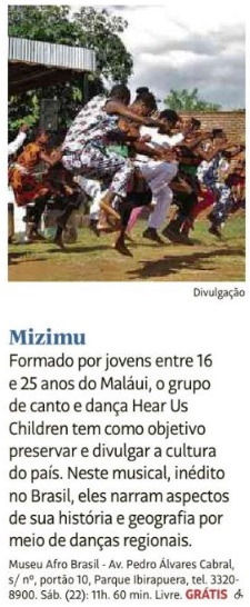 Mizimu - Guia da Folha 2