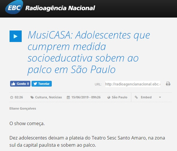 Musicasa - Radioagência