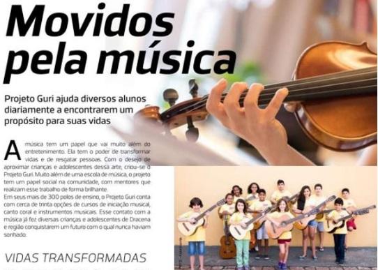 Movidos pela música
