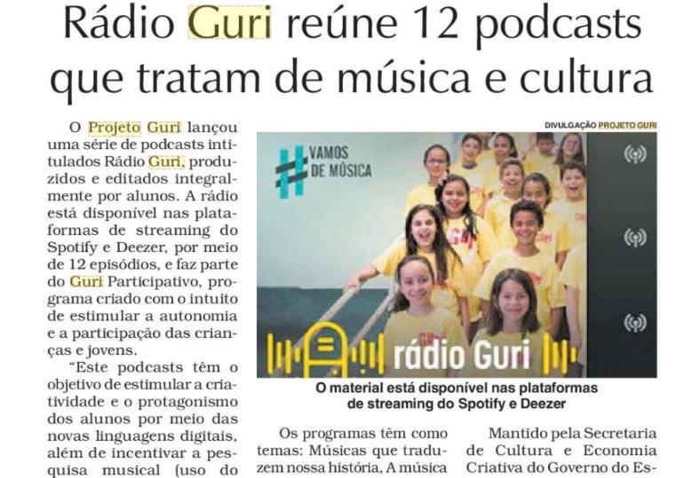 Rádio Guri com foto