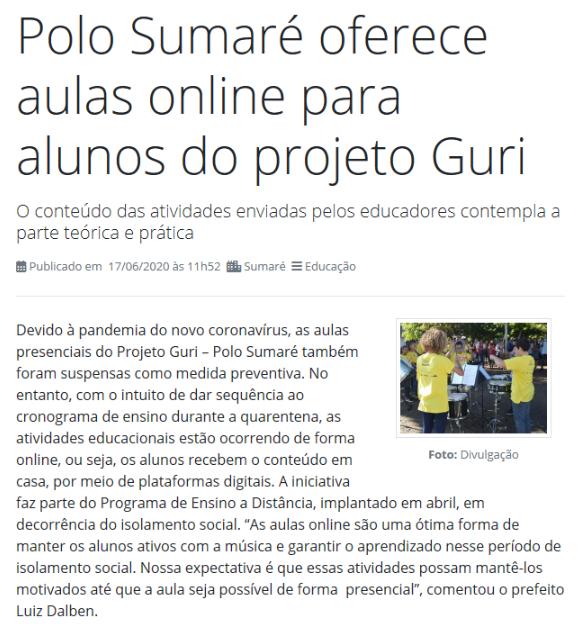 Polo Sumaré