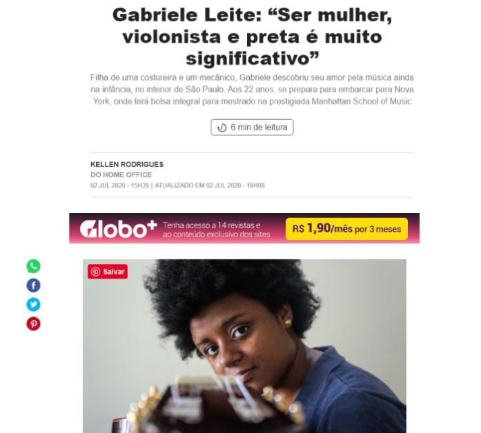 Gabriele Leite - Marie Claire
