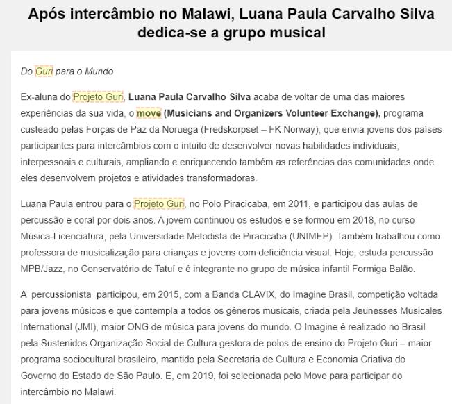 SEC - Luana Paula