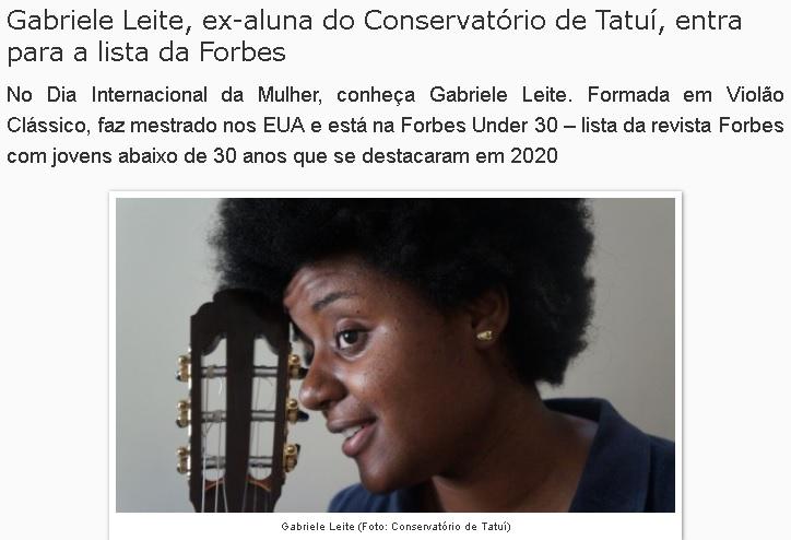 Gabriele Leite - Conservatório de Tautí