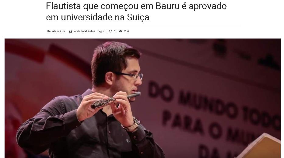Lucas Martins - flauta
