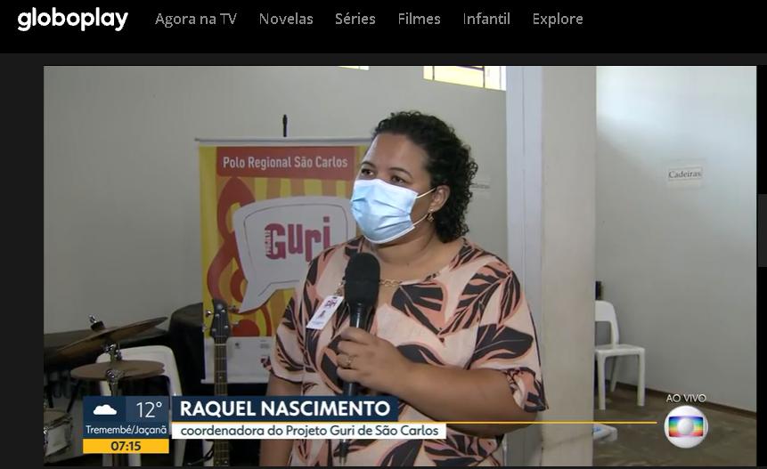 Globo Play - Raquel Nascimento